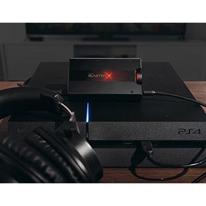 PS4とのUSB接続にも対応