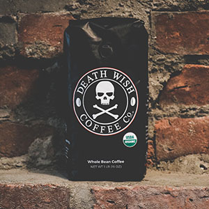 Death Wish Coffee Whole Bean 1lb Bag