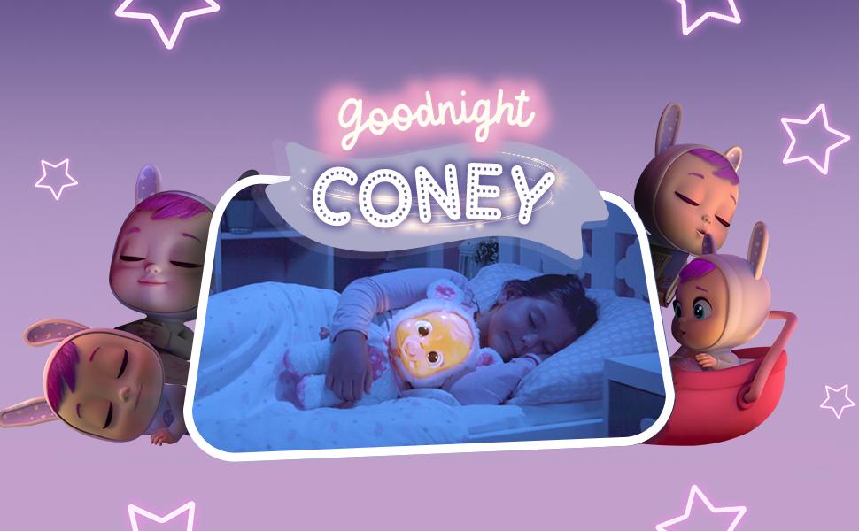Coney Good Night aiuta i bambini ad addormentarsi nel modo più magico. Ecco perché è super morbido.
