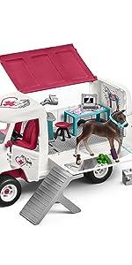 Mobile Vet Set, gift for girls, horse gifts for girls, gifts for girls age 5, gifts for girls age 7