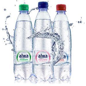 alwa mineralwasser naturelle ohne kohlens ure einweg 6 x. Black Bedroom Furniture Sets. Home Design Ideas