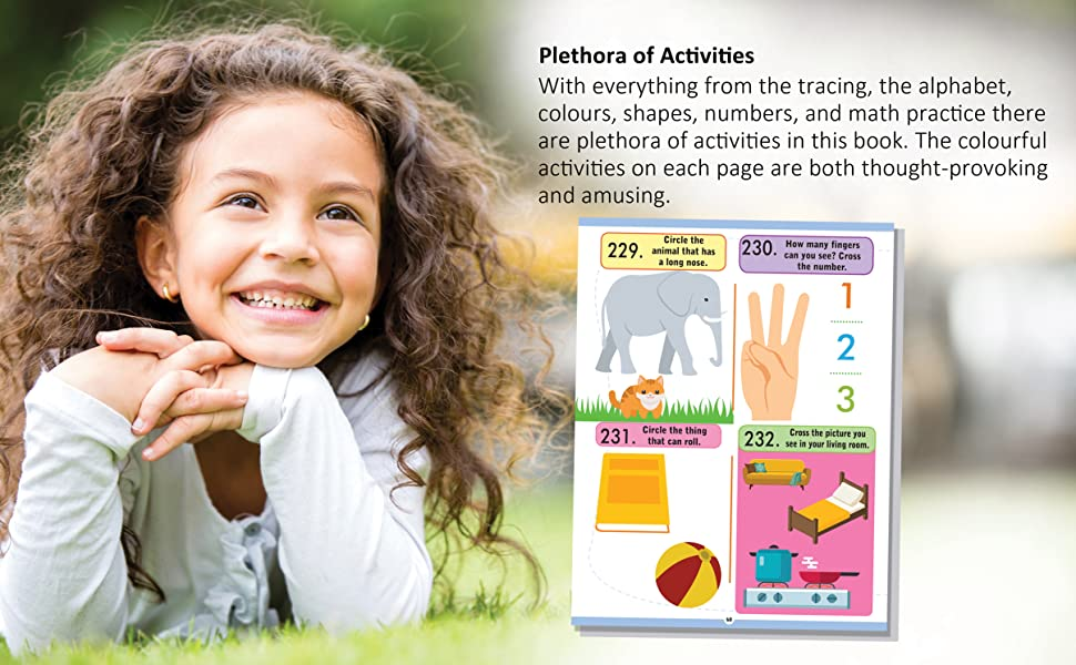 Activity Books, games for kids