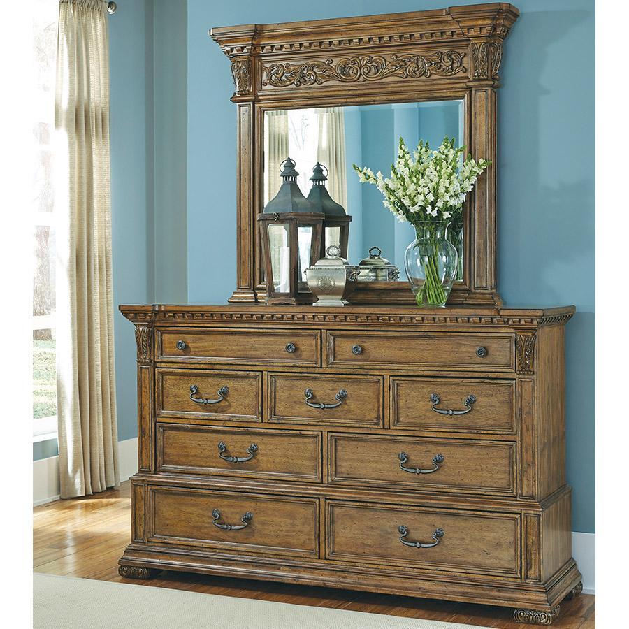pulaski stratton dresser mirror not included 0 kitchen dining. Black Bedroom Furniture Sets. Home Design Ideas