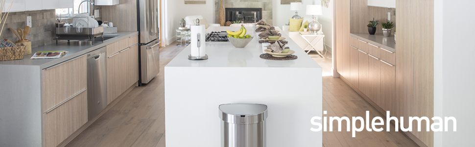 Amazon.com: Simplehuman (35 L de doble compartimiento bajo ...