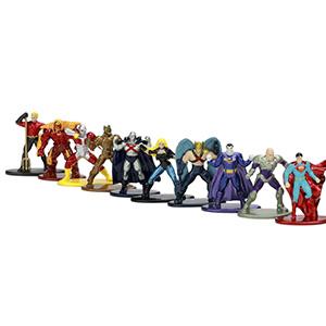 Nano Metalfigs DC Comics 20 Pack Wave 2