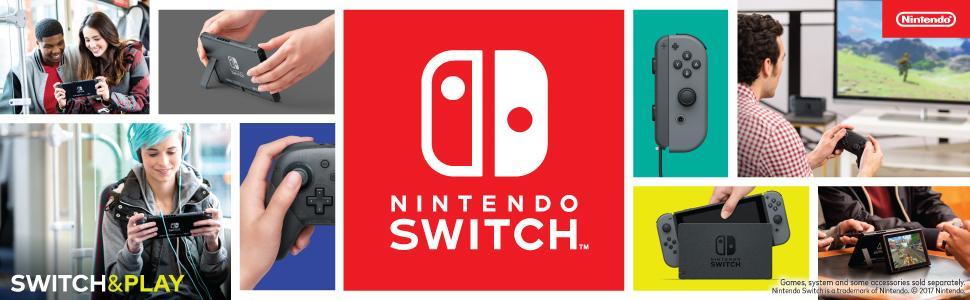 Amazon.com: Nintendo Switch with Gray Joy-Con: Video Games