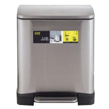EKO; rubbish; trash; garbage; bin; can; kitchen; bathroom; stainless steel; simplehuman