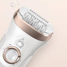 Silk Epil 9-961e Skin Spa Women's Wet and Dry Cordless Epilator with 6 Extras
