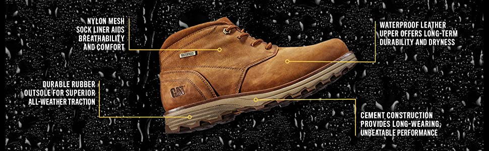 Caterpillar Men's Elude Wp ChUK (ka Boots