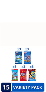 OREO Mini, CHIPS AHOY! Mini Cookies, Nutter Butter Bites, RITZ Bits Cheese Crackers & Teddy Grahams