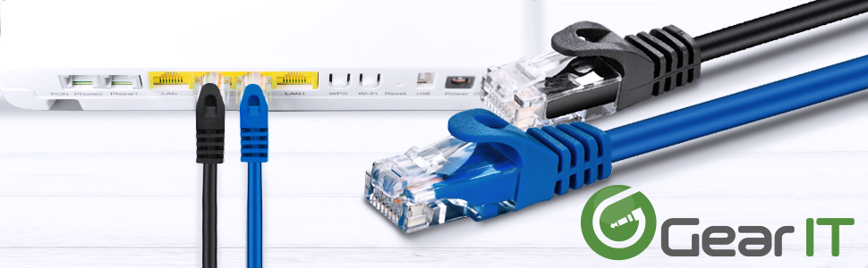 cat6 patch cable flexboot