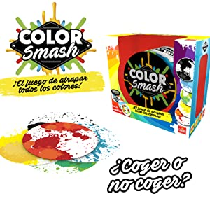 Color Smash - Juego de Cartas (Goliath 70474): Amazon.es: Juguetes ...