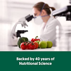 backed by 40 years of nutritional science