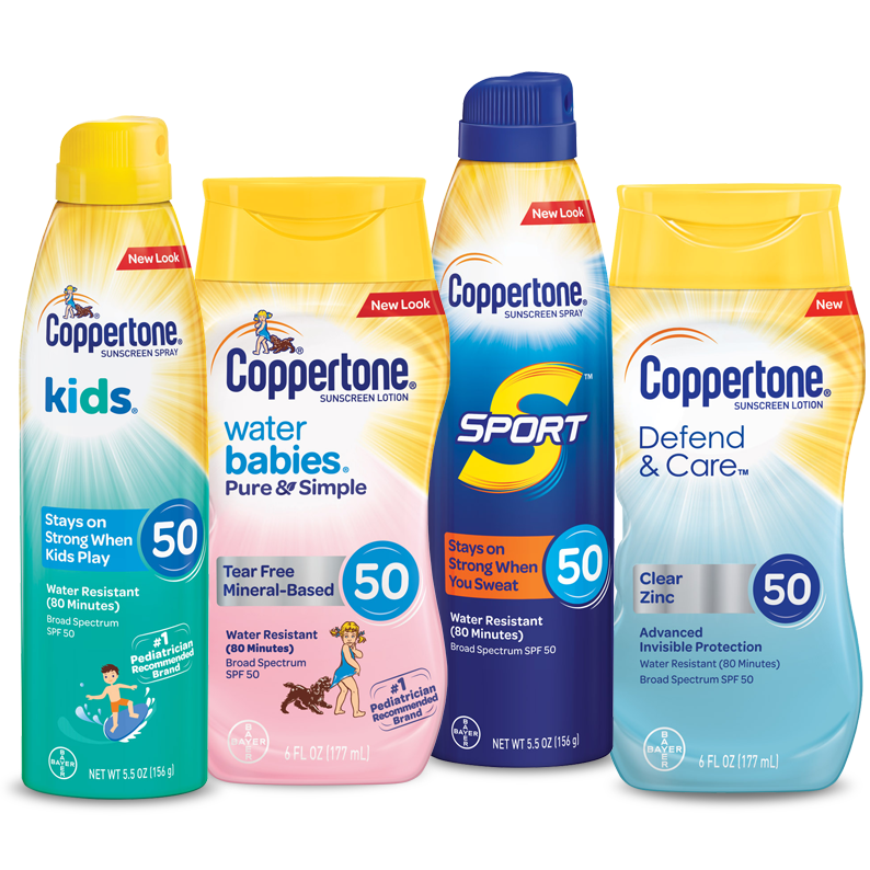 Amazon.com: Coppertone WaterBABIES Stick SPF 55, 0.6 Ounce ...