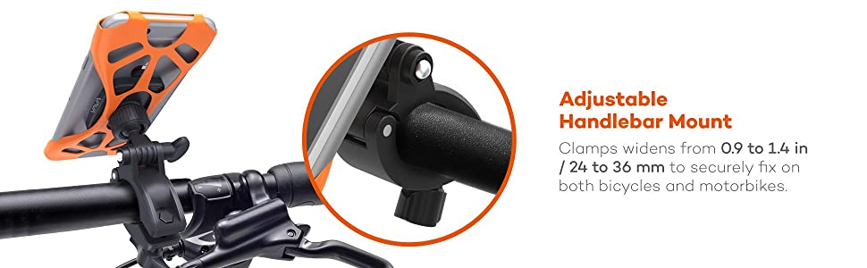 magnetic magnet bike phone mount bicycle holder cradle rubber strap band mounts holders cradles
