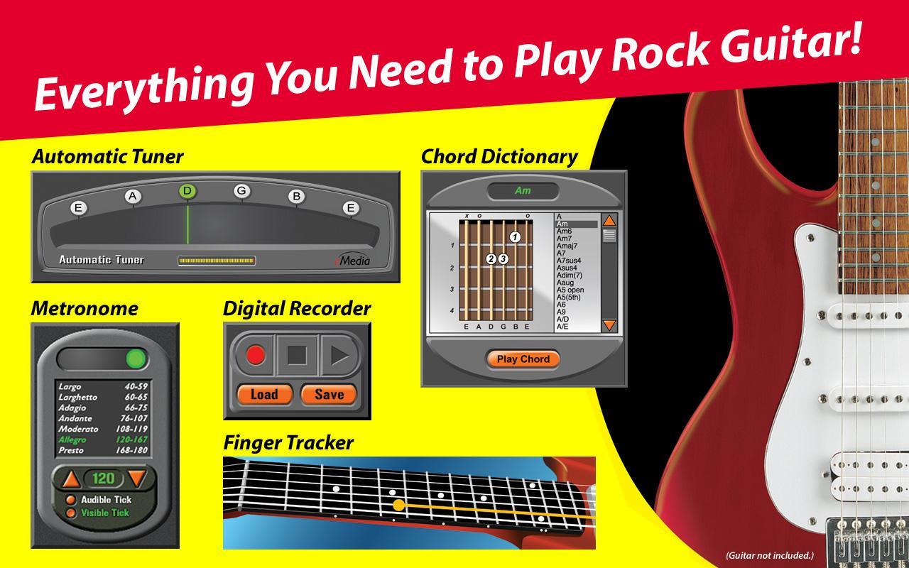 Amazon.com: eMedia fd06101 Rock Guitar for Dummies (R) CD ...