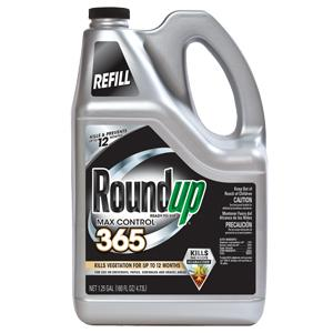 Roundup Ready-To-Use Max Control 365 Refill kills and prevents weeds for up to 12 months! For use on driveways, patios, sidewalks and gravel areas.