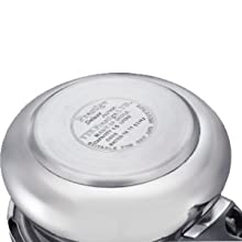Prestige Svachh Alpha Baby Handi, with deep lid for Spillage Control SPN-FOR1