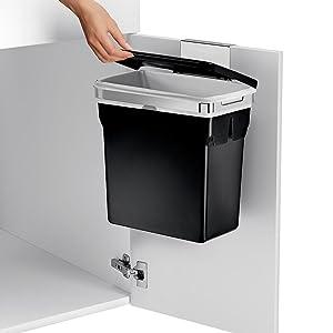 Amazon Com Simplehuman 10 Liter 2 6 Gallon In Cabinet