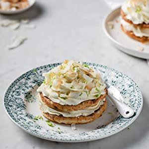 Coconut & Lime Cheesecake Chaffles