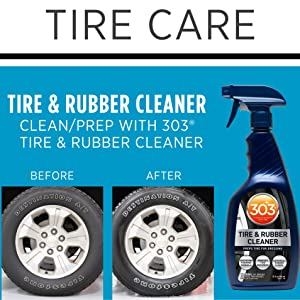 tire care tire clean 303 rubber cleaner