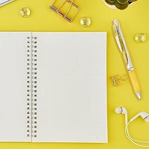 gel, pen, journal, pens, pentel