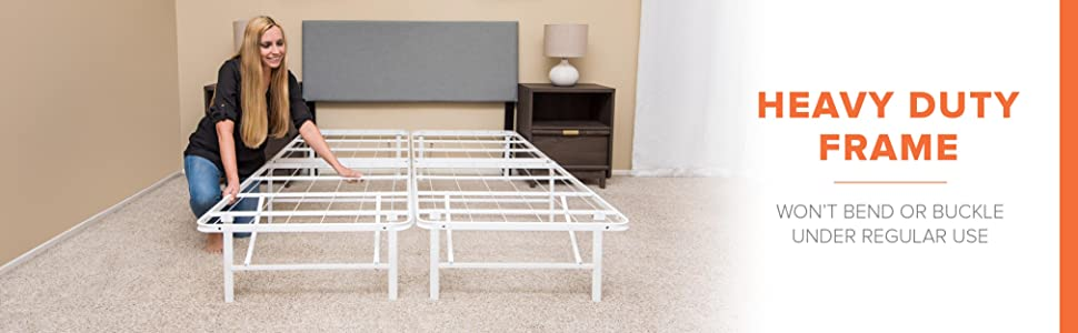 Amazon Com Modway Horizon Twin Bed Frame In Red Replaces Box