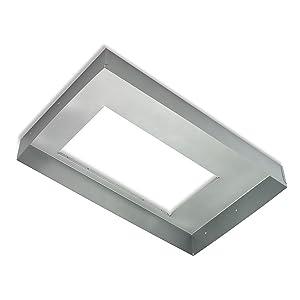 Broan-NuTone LB30 Box Hood Liner for Kitchen Range Hoods, Silver, 30