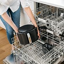 AF161, Ninja, Air Fryer, Dishwasher-safe