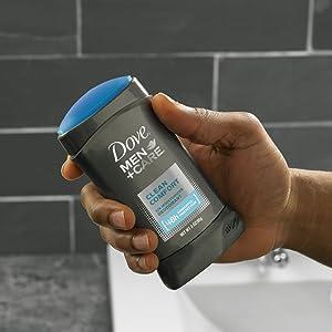 How to use Dove Men+Care Deodorant Stick