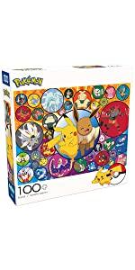 Pokemon - Alola Region - 100 Piece Jigsaw Puzzle