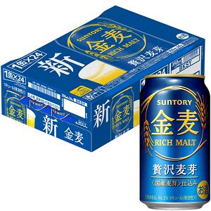 金麦 ザ・ラガー 贅沢麦芽 糖質75%オフ 新ジャンル 第三のビール