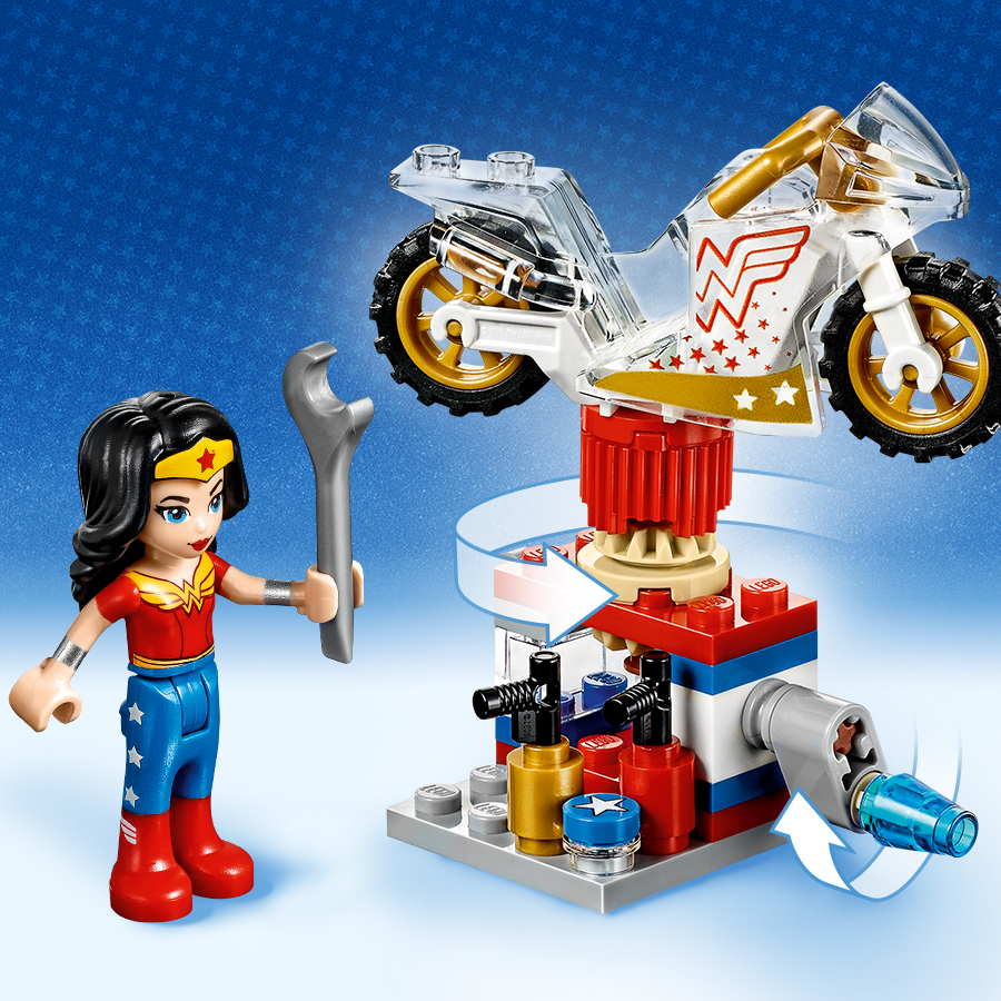 Amazon.com: LEGO DC Super Hero Girls Wonder Woman Dorm ...