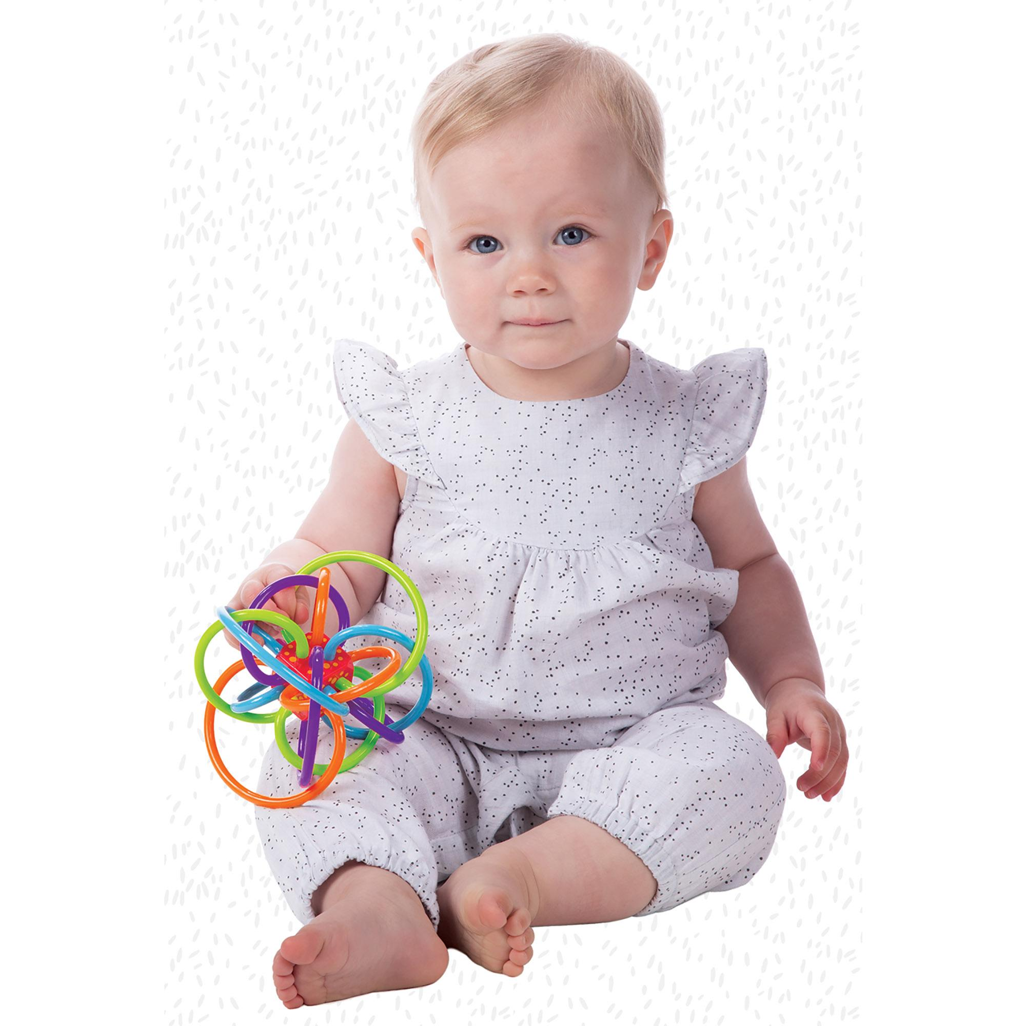 Manhattan Toy Winkel Rattle and Sensory Teether Toy Manhattan Toy