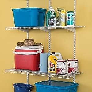 Amazon Com Closetmaid 2845 Shelftrack 4ft Pantry