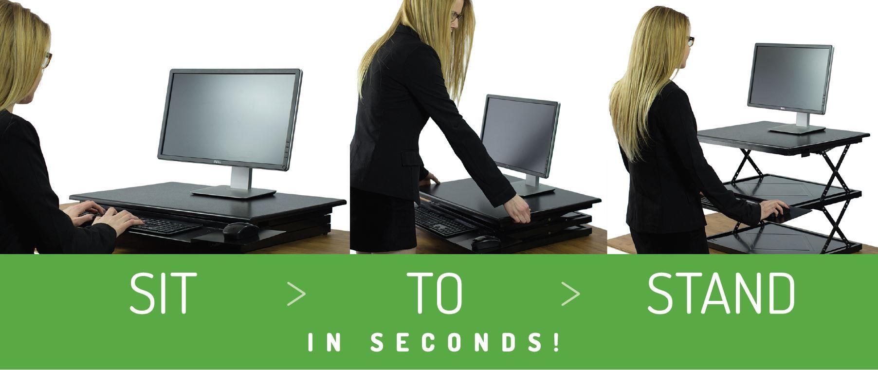 Amazon Com Changedesk Tall Ergonomic Laptop Amp Desktop