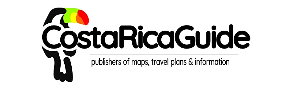 costa rica guide maps planning information