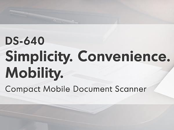 DS640 scanner