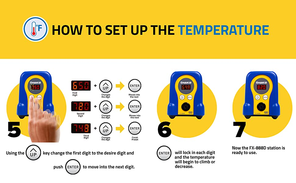 How to Set Up the Temperature