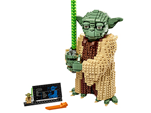 Lego - Star Wars Yoda,Set di Costruzioni per Collezionisti e Bambini +10 Anni, 75255