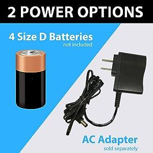 battery batteries ac power adapter