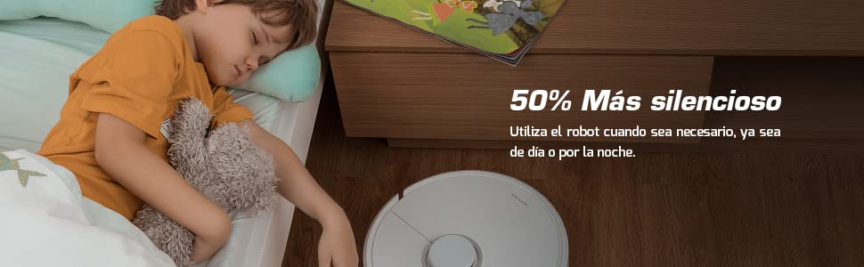50% más silencioso
