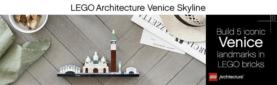 lego architecture, venice skyline