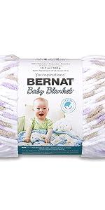 Bernat Blanket Baby Variegated Yarn