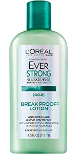 Ever, sulfate free, loreal, hair treatment, thick hair