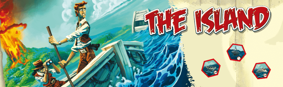 The island, juegos de mesa, juegos de tablero, Asmodee