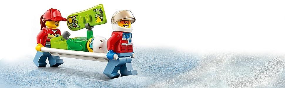 Eli-ambulanza, bambini, gioco