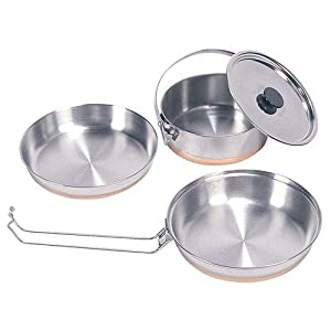 Amazon.com : Stansport 360 Stainless Steel Mess Kit for