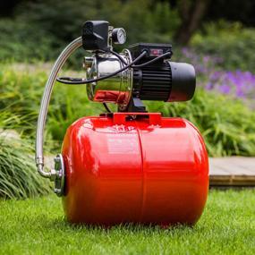 Hauswasserwerk Druckkessel 50 Liter Brauchwasser Gartenbewässerung Hauswasserversorgung Edelstahlpum