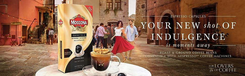 Moccona coffee caspules